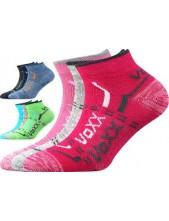 Dětské ponožky VoXX REXÍK 01 - balení 3 páry v barevném mixu