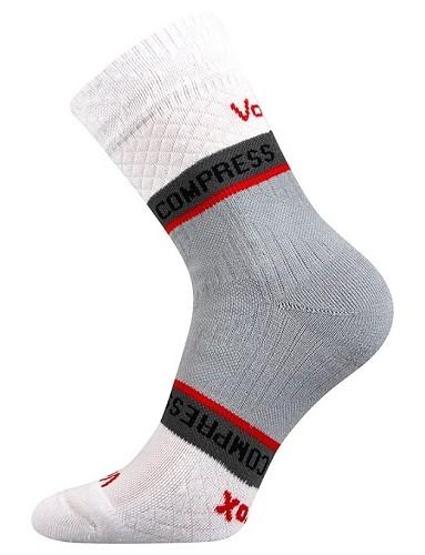 FIXAN kompresní ponožky VoXX, bílá