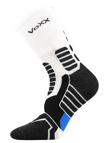 Kompresní ponožky VoXX RONIN, bílá