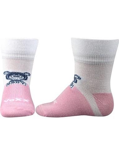 3507bdbc846 SEBÍK kojenecké bambusové ponožky VoXX Mix A - Bílá