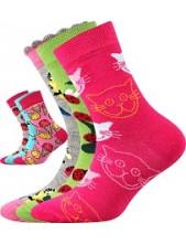 Dětské ponožky Boma 057-21-43 Holka VII, Balení 3 různé páry