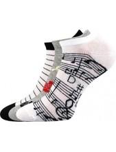 Ponožky dámské Boma PIKI mix 51- balení 3 různé páry
