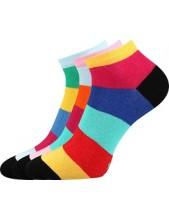 Ponožky dámské Boma PIKI mix 50 - balení 3 různé páry