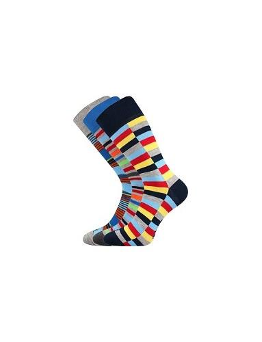 Ponožky Lonka DIMAGE mix D - balení 3 páry