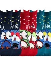 Ponožky Boma PRUHANA Mix 12 - balení 3 páry v různých barvách