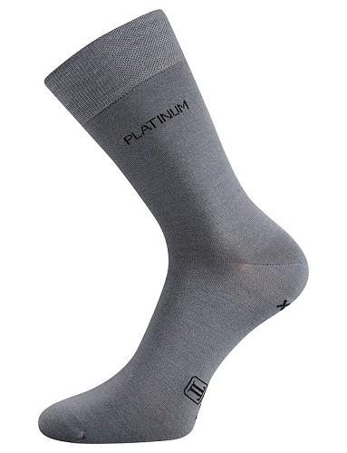 Ponožky Lonka DEWOOL světle šedá