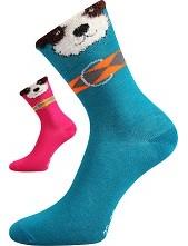 Dětské ponožky Boma HAFÍČEK - balení 3 páry ve stejných barvách