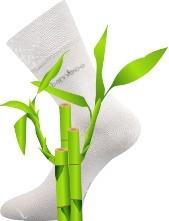 Bambusové ponožky zdravotní lem