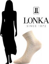 Dámské společenské ponožky Lonka